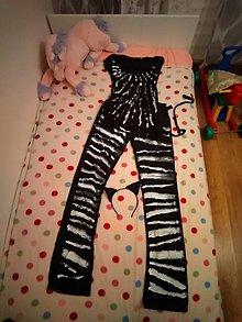 Iné oblečenie - Karnevalový kostým zebra😆..... - 10821636_