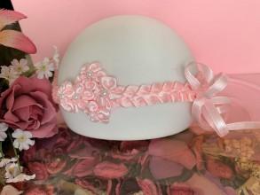 Ozdoby do vlasov - Čelenka pre malé slečny  (ružová) - 10821121_