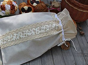 Úžitkový textil - Vrecko na chlieb... - 10819249_