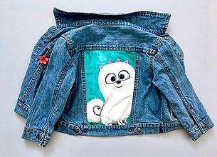 Detské oblečenie - Detská maľovaná bundička
