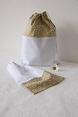 Iné tašky - Vrecúška cestovné kvietok - 10821418_