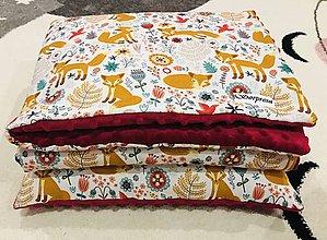 Textil - Minky set ,, Kamarátka líška