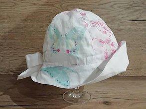 Detské čiapky - Dievčenský klobúčik - 10821847_