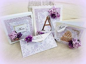 Papiernictvo - Ruže s vôňou fialiek pre Aničku - 10820336_