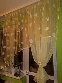 Úžitkový textil - Záclona na objednávku - 10820009_