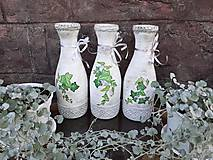 Dekorácie - Váza brečtan - 10821531_