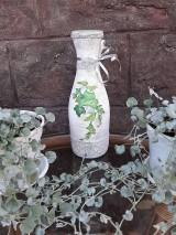 Dekorácie - Váza brečtan - 10821534_