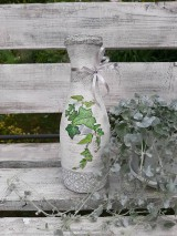 Dekorácie - Váza brečtan - 10821537_