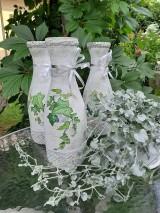Dekorácie - Váza brečtan - 10821538_