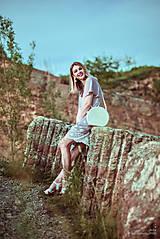 Šaty - Letné šaty šedé - 10819722_