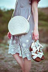 Šaty - Letné šaty šedé - 10819727_