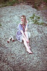 Šaty - Letné šaty šedé - 10819733_