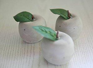 Dekorácie - betónové jabĺčko - 10819533_