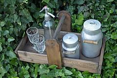 Nábytok - Prenosná drevená debnička - 10819941_