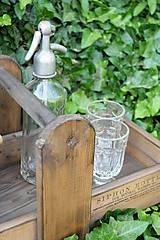 Nábytok - Prenosná drevená debnička - 10819942_