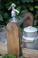 Nábytok - Prenosná drevená debnička - 10819952_