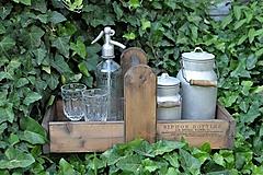 Nábytok - Prenosná drevená debnička - 10819955_