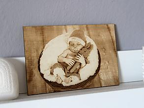 Obrázky - Gravírovaná fotka do dreva - 10823421_