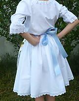 Detské oblečenie - Zásterka Plná výšivka - 10823379_