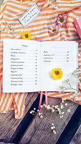Papiernictvo - Svadobný plánovač - 10822299_