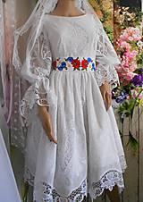 """Šaty - Svadobné šaty """" Nevesta lesov a lúk ... """" - 10823213_"""