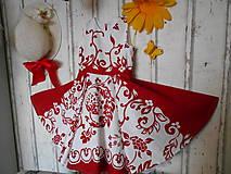 Detské oblečenie - FLORAL FOLK , detské spoločenské šaty - 10824860_