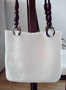 Kabelky - letná háčkovaná taška - 10824133_