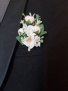 Pierka - pierko pre ženícha vo farbe
