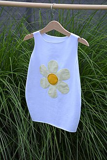 Detské oblečenie - Úpletové balónové šaty Fiore - 10824432_