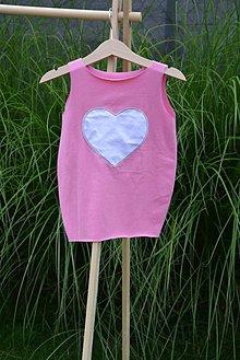 Detské oblečenie - Úpletové balónové šaty Lussy - 10824442_