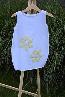 Detské oblečenie - Úpletové balónové šaty Flur - 10824465_