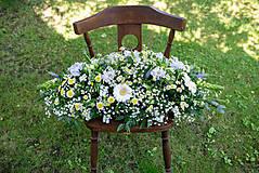 Dekorácie - Aranžmán na mladomanželský stôl - 10824748_