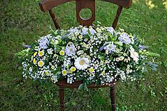 Dekorácie - Aranžmán na mladomanželský stôl - 10824749_