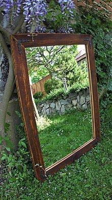 Zrkadlá - Zrkadlo zo starého dreva 3 - 10822065_