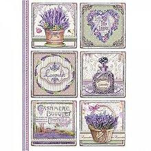 Papier - Ryžový papier Stamperia A4 - 10823536_