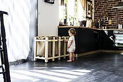 Nádoby - Drevený kôš na triedený odpad - 10825020_