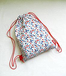 Detské tašky - Batoh tulipány 3-6r. - 10824985_