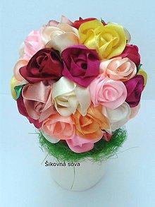 Dekorácie - Ružový stromček - 10823059_