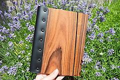 Papiernictvo - Zápisník Wood book  A5 - 10823435_