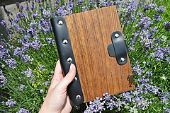 Papiernictvo - Zápisník Wood book  A5 - 10823456_