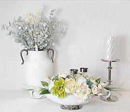 Dekorácie - Elegantná dekorácia - svietnik - 10822431_