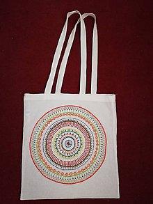 Nákupné tašky - Big mandala bag - 10824575_