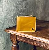 Peňaženky - Kožená peňaženka - 10822717_