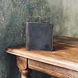 Peňaženky - Kožená peňaženka - 10822897_