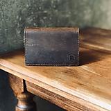 Peňaženky - Kožená peňaženka - 10822918_