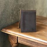 Peňaženky - Kožená peňaženka - 10822938_