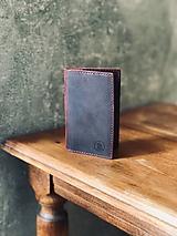 Peňaženky - Kožená peňaženka - 10822975_