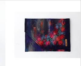 """Kabelky - Arttexová kabelka """"Rozkvitnutá"""" - 10822898_"""