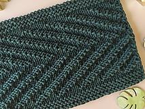 Úžitkový textil - Unikátny koberček - Jungle - 10823361_