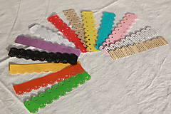 Svietidlá a sviečky - Papierový svietnik (bez dna) - kvetinový motív (rôzne farby) - 10823010_